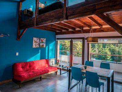 Villa La Angostura, Moderno Departamento En Bosque Céntrico