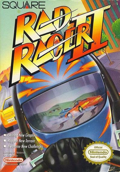Rad Racer Ii (completo) - Nes