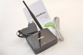 Roteador Wireless Wifi Intelbras Wrn150 - 150 Mbps + Brinde