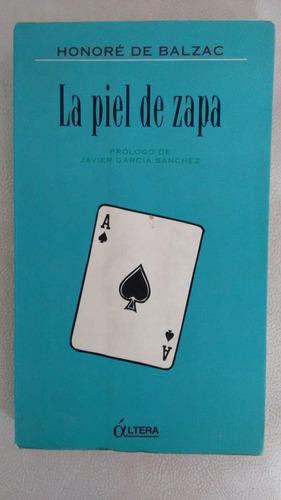 La Piel De Zapa, Honore De Balzac