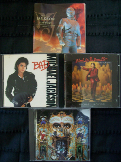 Michael Jackson - Lote 3 Cd´s + Libro History