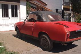 Cisitalia 750 Spyder Spider Abarth Convertible Fiat 600 800