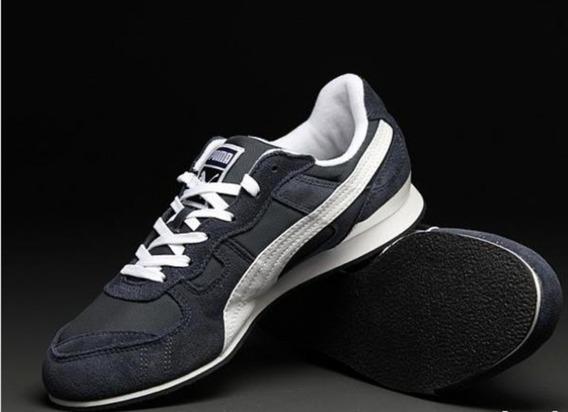 Tenis Puma Original Casual Runner Bayndyt Mesh Azul/blanco
