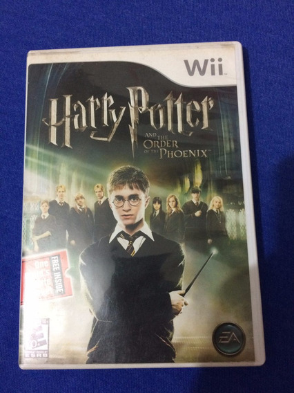 Harry Potter And The Order Of The Phoenix Ntsc Wii
