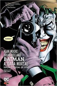 Hq Batman A Piada Mortal - Volume 1 (português) Capa Dura