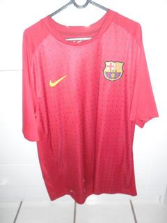 Camisa Do Barcelona Xg Nike Lindíssima Original Semi Nova
