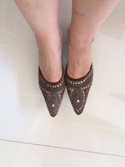 Sapato Bordado