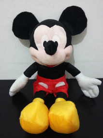 Boneco De Pelúcia Mickey Mouse Disney Grande 50 Centimetros