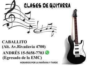 Profesor De Guitarra (caballito)