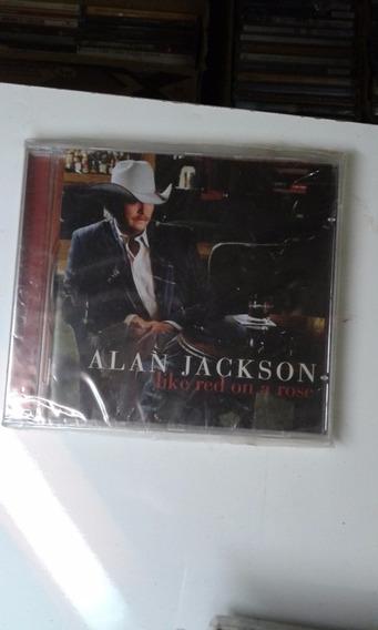 Cd Alan Jackson Like Red On