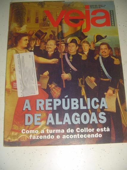 Revista Veja 1189 Alagoas Collor Ticiane João Gordo 1991