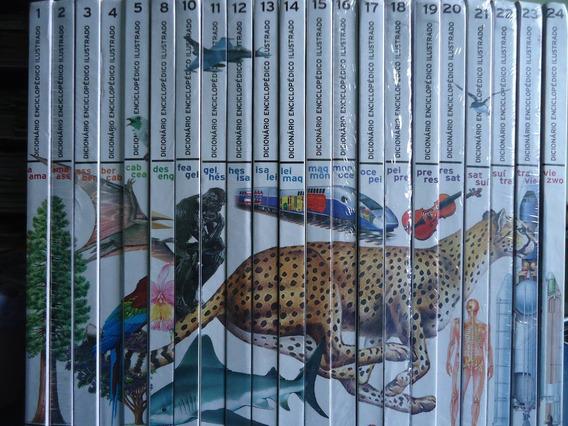 Dicionario Enciclopedio Ilustrado Veja Larousse - 21 Volumes