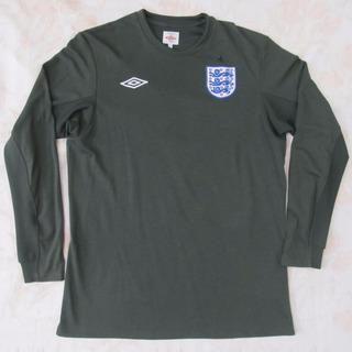 20205 Camisa Goleiro Umbro Inglaterra Verde 2010 M Fn1608
