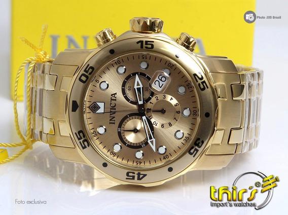 Invicta Pro Diver Scuba 0074 - 48 Mm Pesado Original Thirs