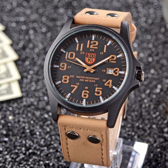 Relógios Masculino Militar Soki