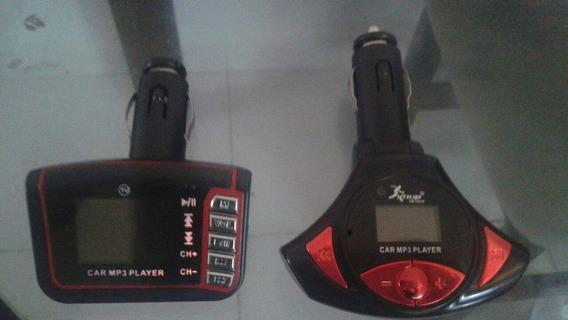 2 Mp3 Car Com Controle