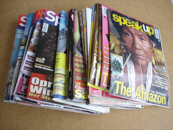 Revistas Speak Up - Antigas Usadas No Estado