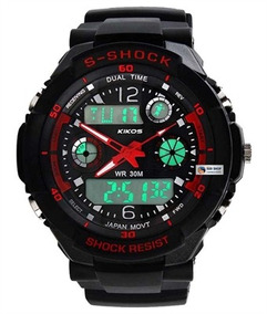 Relógio Rk02 Vermelho - Kikos