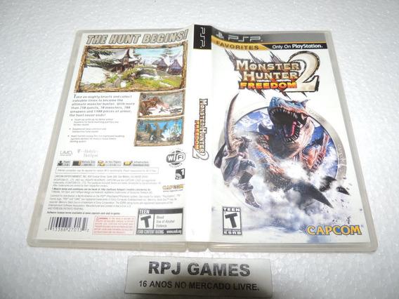 Monster Hunter Freedom 2 Original Completa Psp - Loja Rj