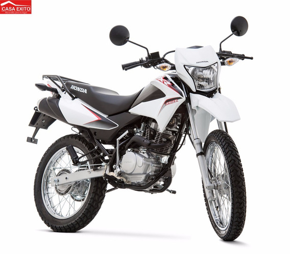 Moto Honda Xr150l Año 2019 Color Blanco, Negro, Rojo