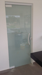 Porta De Vidro Temperado (m²)