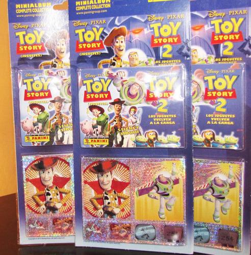 Mini Album Completo De Toy Story (nuevo Y Cerrado) Panini