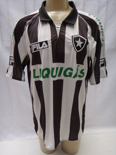 Camisa De Futebol Do Botafogo 2009 #7 Fila Liquigas - Bj09