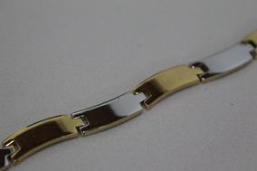 Pulseira Folheados Ouro Amarelo 18kt Unissexy -b6 -pfe