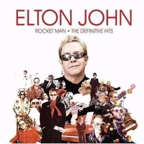 Cd Elton John - Rocket Man The Definitive Hits (lacrado)