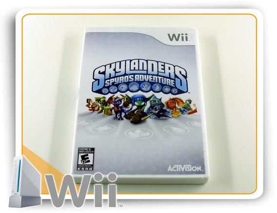 Wii Skylanders Spyros Adventure Original Nintendo Wii