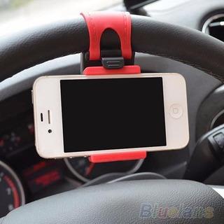 Suporte Smartphone Volante Veicular iPhone Gps Pronta Entreg