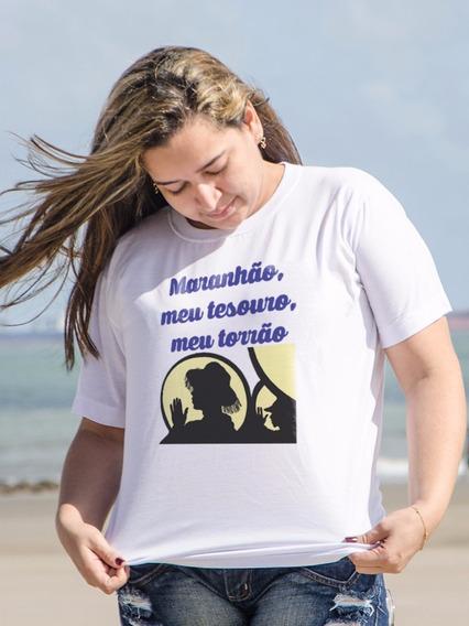 Blusa Feminina Maranhão - 100% De Qualidade Oxente Bixim