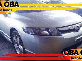 Honda New Civic Lxs 1.8 Flex 08/08 - Sucata P/ Retirar Peças