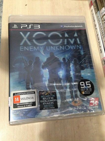 Jogo Game Xcom Enemy Unknown Ps3 Novo Original
