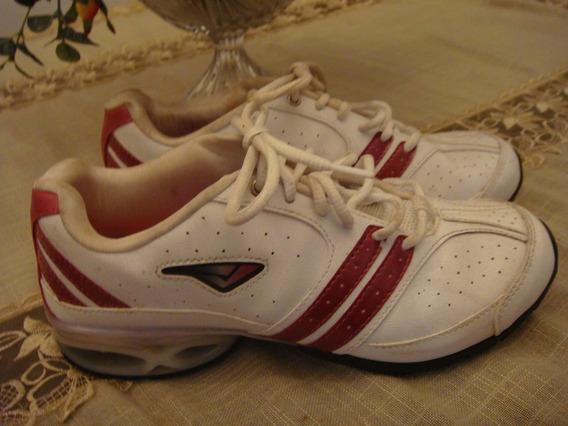 Tenis Academia Caminhada Tam. 36 Corrida Branco