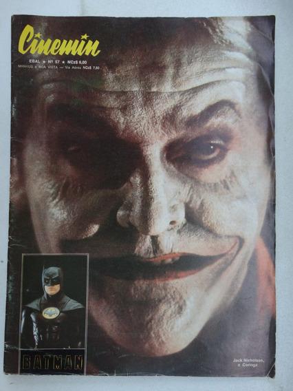 Cinemin Nº 57! 5ª Série! Ebal Out 1989!