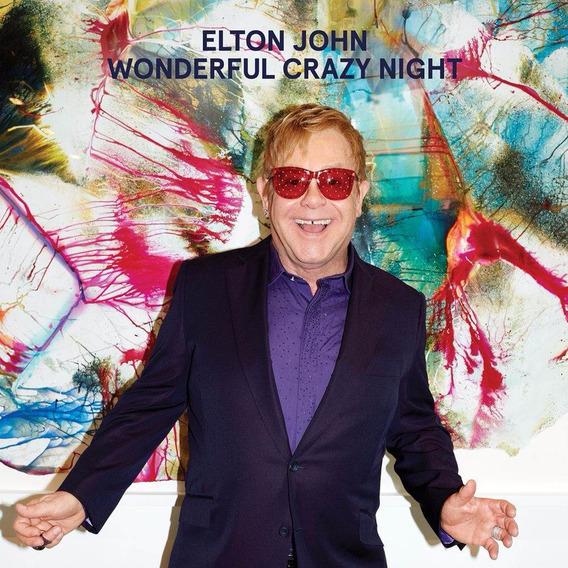 Cd Elton John - Wonderful Crazy Night