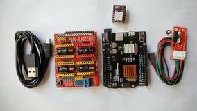 Kit Arduino Uno R3 Micro Usb 2016 + Cnc Shield Drv8825