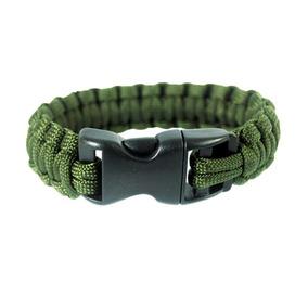 Pulseira Bracelete Survival Verde