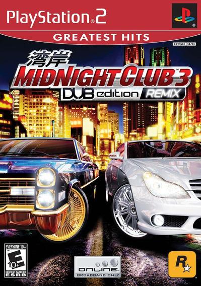 Midnight Club 3 Remix Playstation 2 Ps2 + Brinde