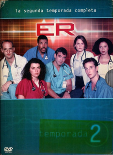 E. R. Emergencias ( Temporada 2 Completa ) 7 Dvds Originales