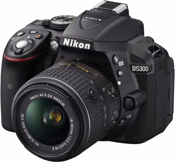 Camara Nikon D5300 24.2 Mp Kit 18-55mm F/3.5-5.6g Vr Ii