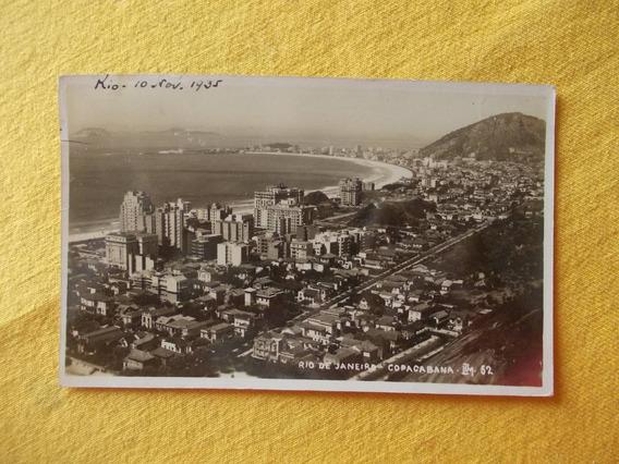 2101- Postal Rio De Janeiro, Brasil, Copacabana 1935