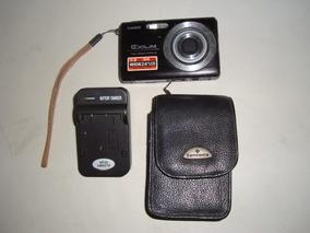 Câmera Digital Exilim Z75 + Case Samsonite + Carregador