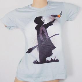 Blusa Feminina Casual Harry Potter Geek - Predador Wear