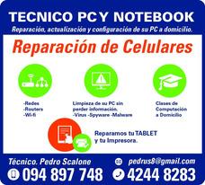 Técnico P.c, Notebook, Celulares,tablet, Redes,impresoras