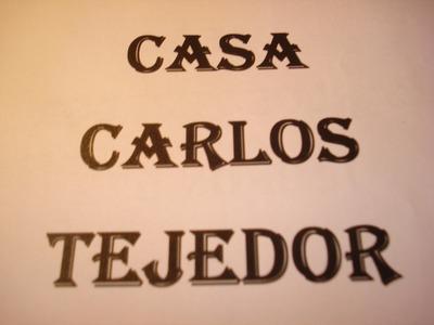 Carlos Tejedor Casa