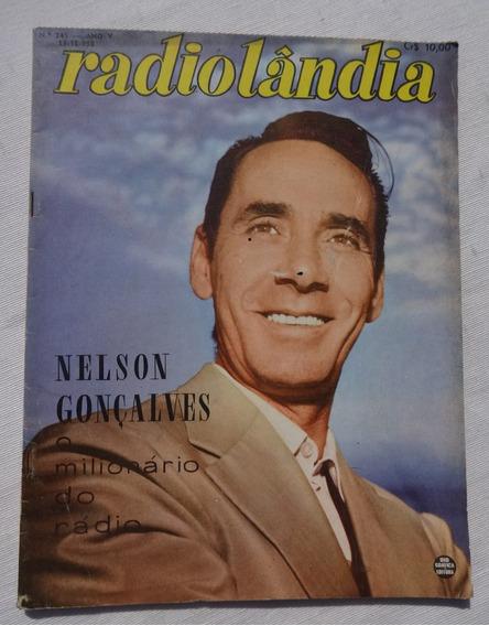 Radiolândia Nº 245: Nelson Gonçalves - Zé Trindade - 1958