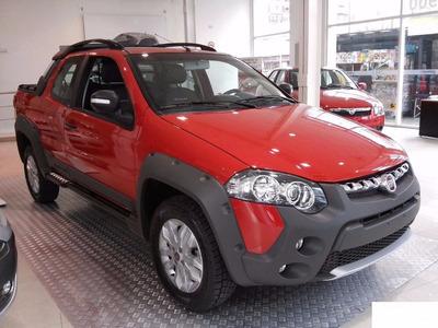 Fiat Strada Adventure Doble Cabina-anticipo $58.000 O Usado!
