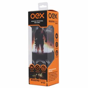 Mousepad Action Profissional Gamer Oex - Mp300 - Antiskid